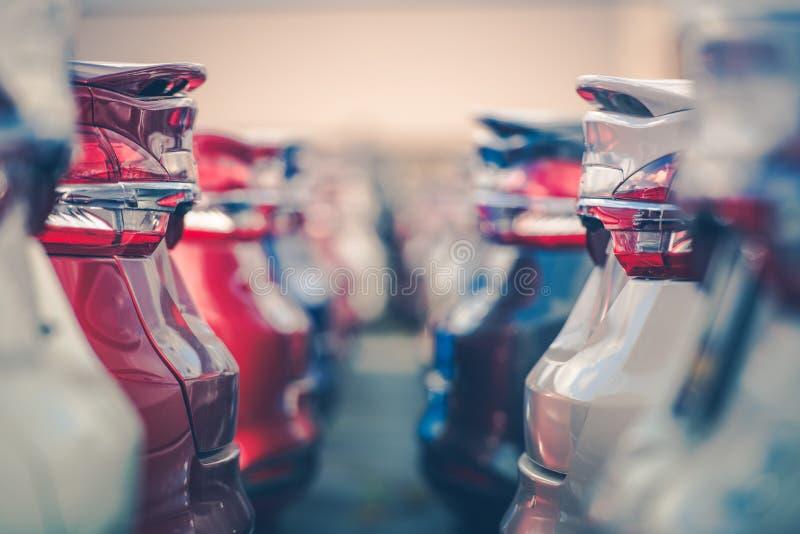 Automobilindustrie-Auto-Verkauf lizenzfreie stockfotos