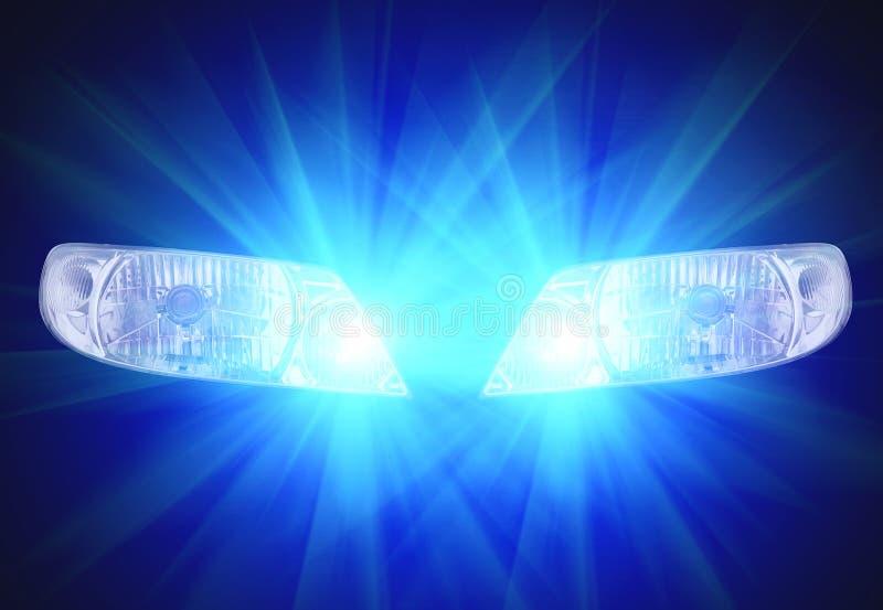 Automobilowe kierownicze lampy
