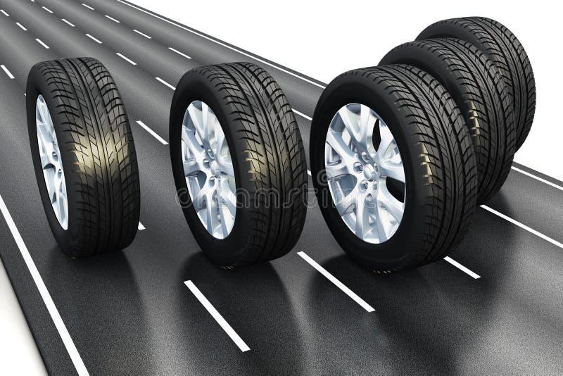 Automobilowy pojęcie ilustracja wektor