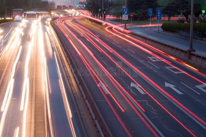 Automobilreiseverkehr lizenzfreies stockbild