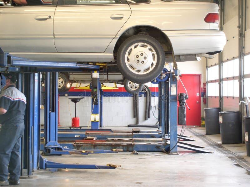Automobilservice stockbild