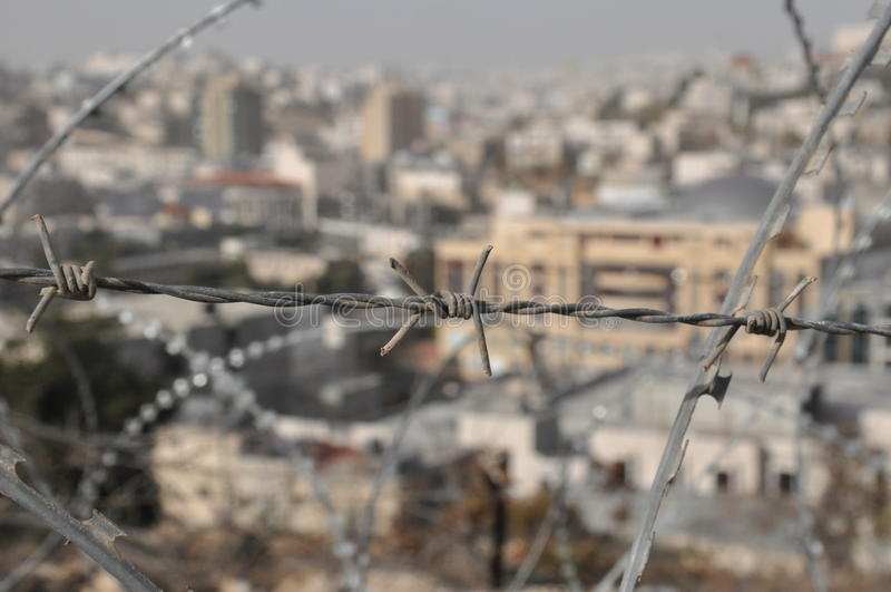 automomy希布伦以色列巴勒斯坦 免版税库存照片