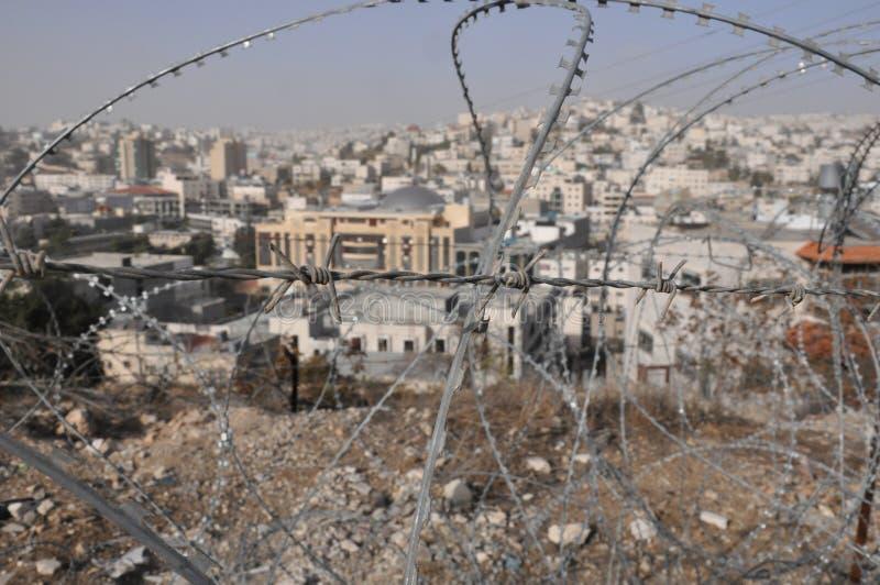 automomy希布伦以色列巴勒斯坦 库存照片