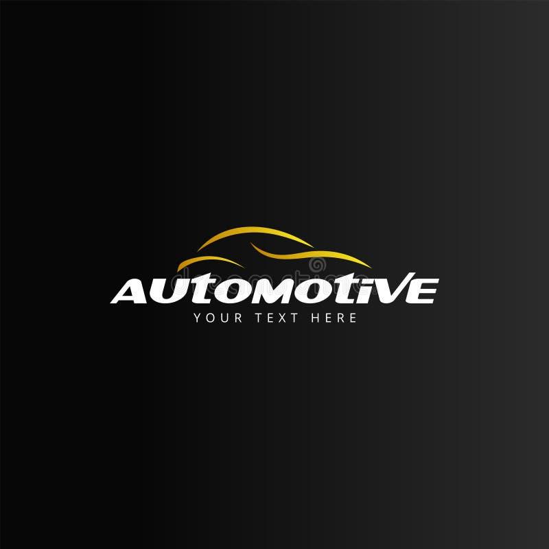 Automotive car logo design template vector isolated stock illustration