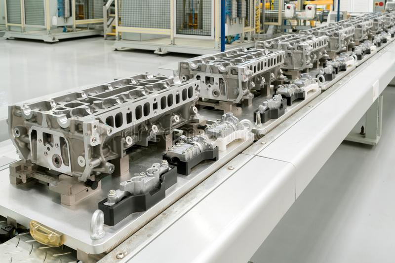 Automotive production line stock image
