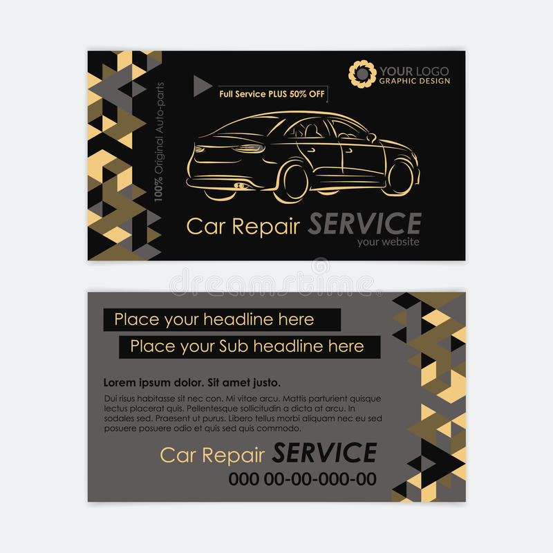 Automotive service business card template car diagnostics and download automotive service business card template car diagnostics and transport repair create your own cheaphphosting Images
