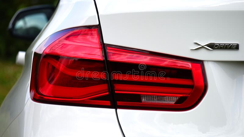 Automotive taillight royalty free stock photography