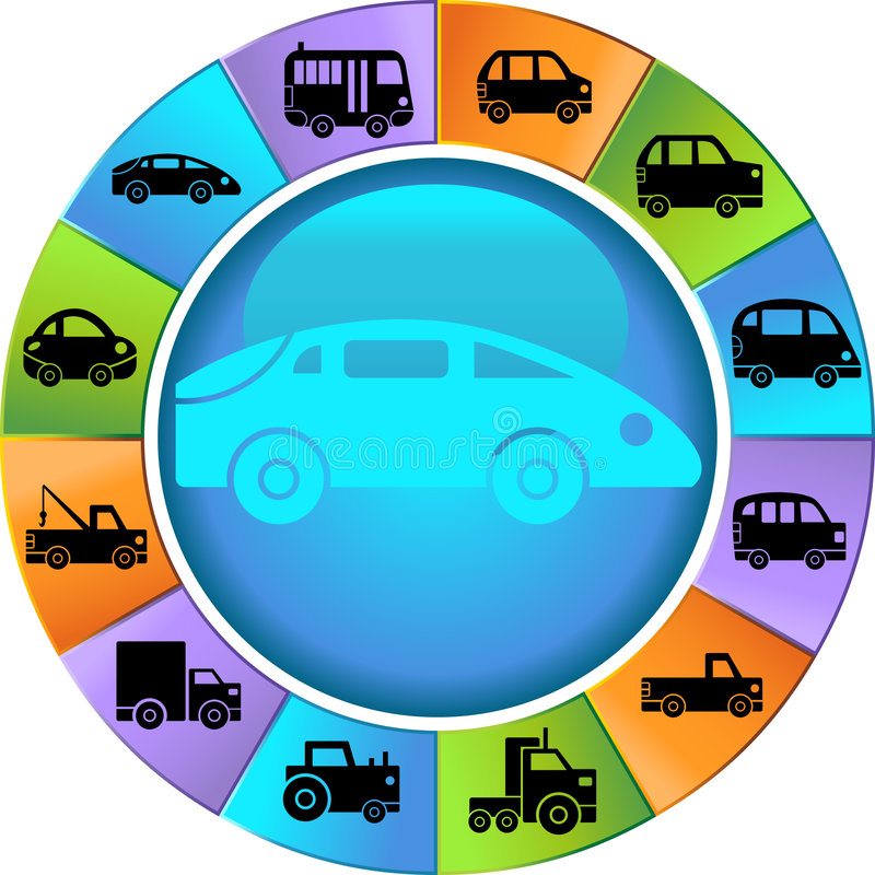 Download Automotive Wheel stock vector. Image of buttons, round - 9314636