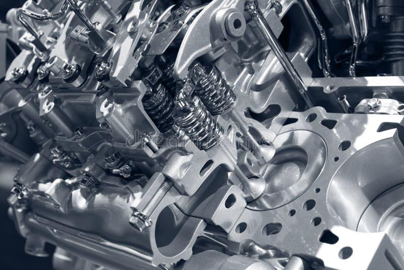 Automotor. stockfotos