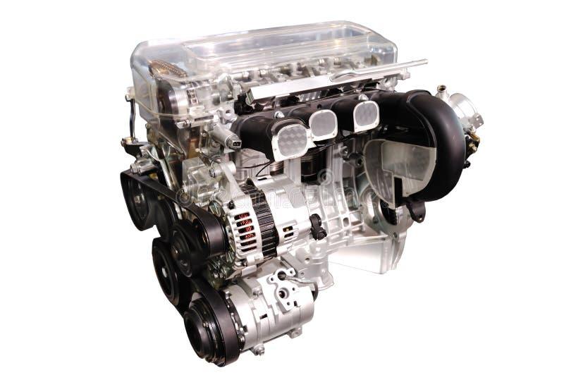 Automotor stockbild. Bild von sauber, grau, haube, gang - 7542825