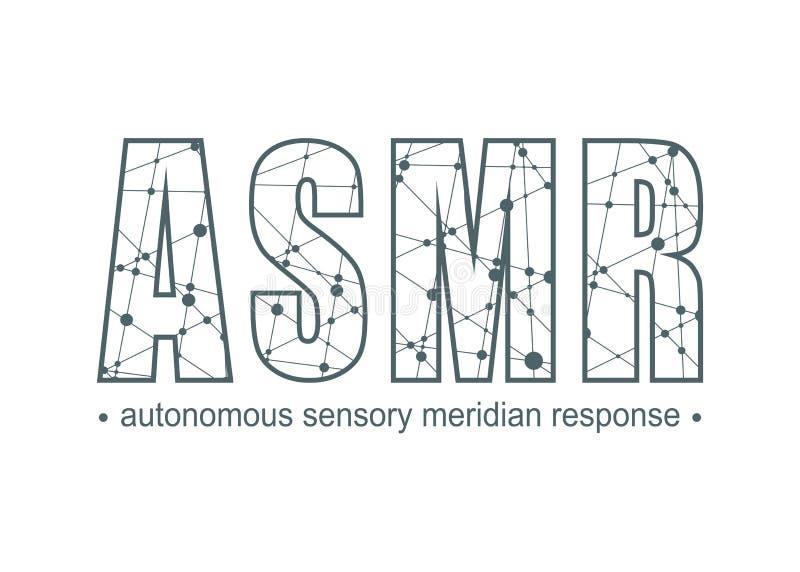 Autonomiczna Sensualna południk odpowiedź ilustracja wektor