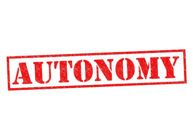 autonomy stock illustratie