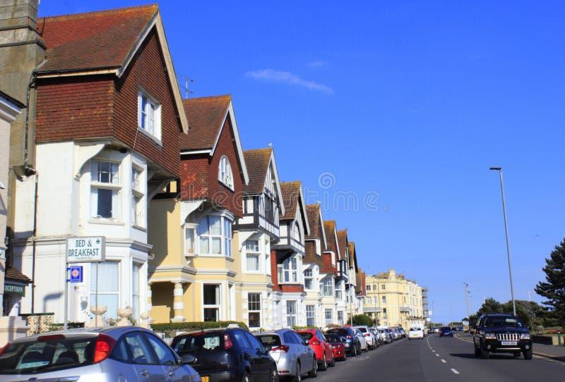 Autopista Reino Unido de Hastings imagen de archivo libre de regalías