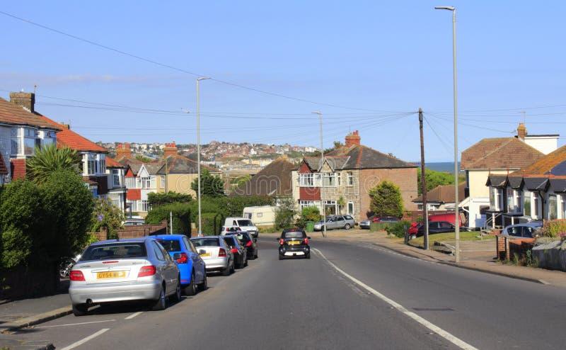 Autopista Reino Unido de Hastings fotografía de archivo libre de regalías