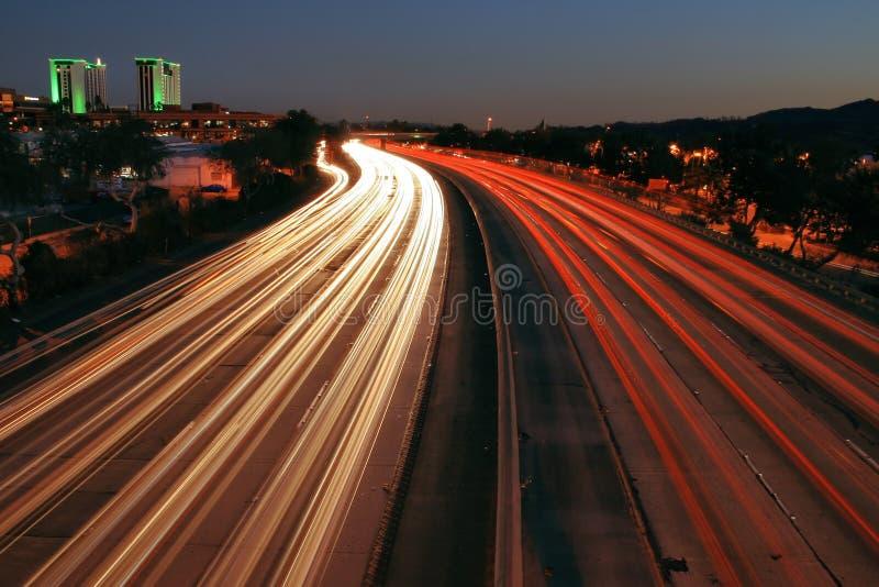 Autopista sin peaje 5 fotos de archivo libres de regalías