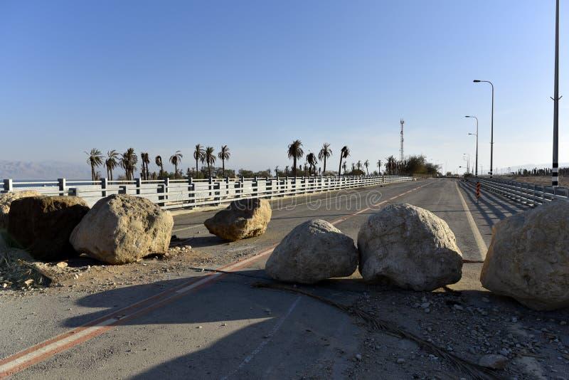 Autopista sin peaje bloqueada foto de archivo libre de regalías