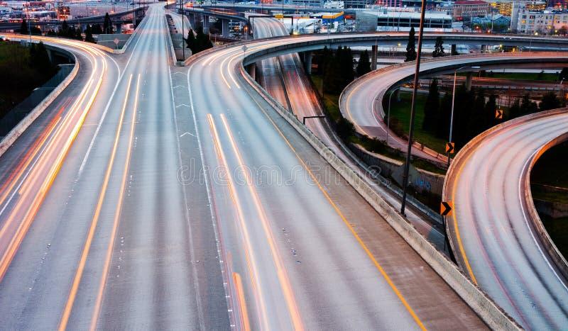 Autopistas sin peaje fotografía de archivo libre de regalías