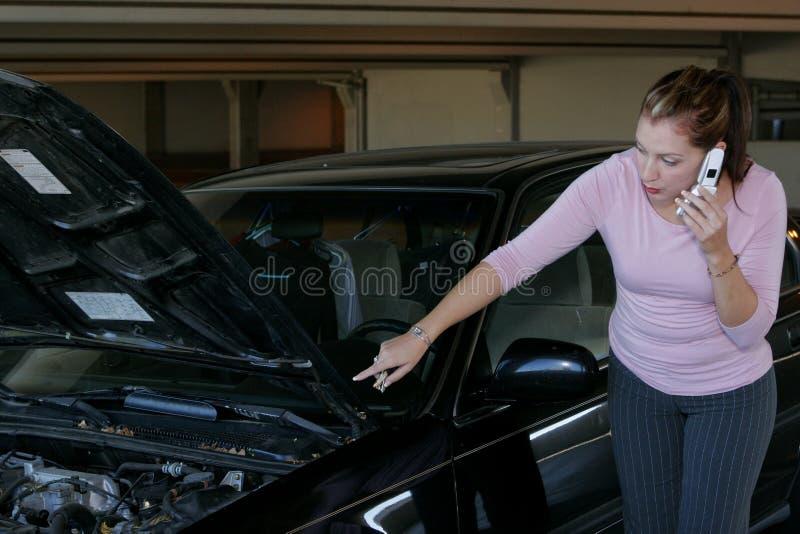 Autoprobleme lizenzfreies stockfoto