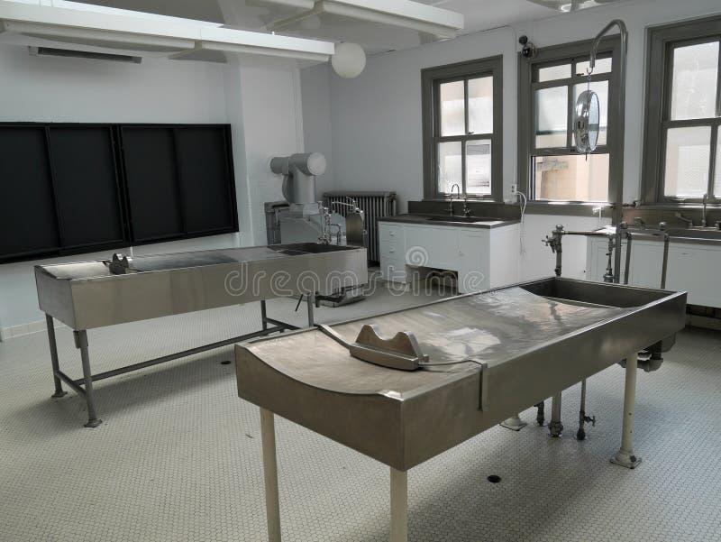 Autopsy room royalty free stock photo