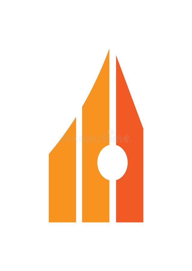Autor Pisze pióro edukacji biznesu znaka symbolu ilustracji