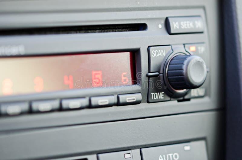 Autoradio photographie stock