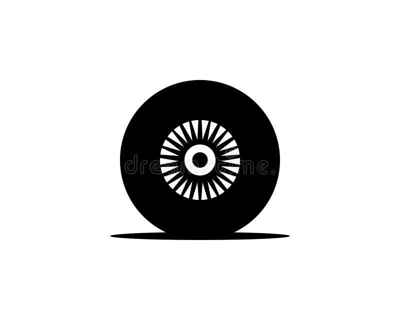 Autoreifenlogo vektor abbildung