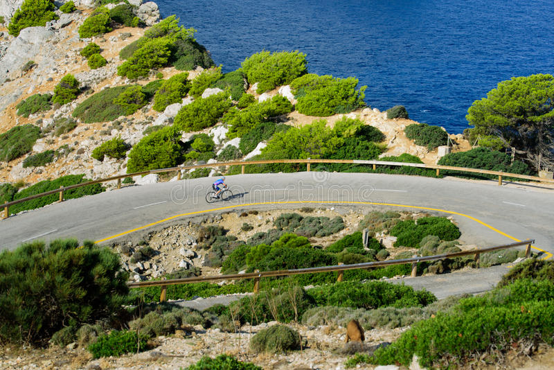 Autoreise durch Mallorca stockfotografie