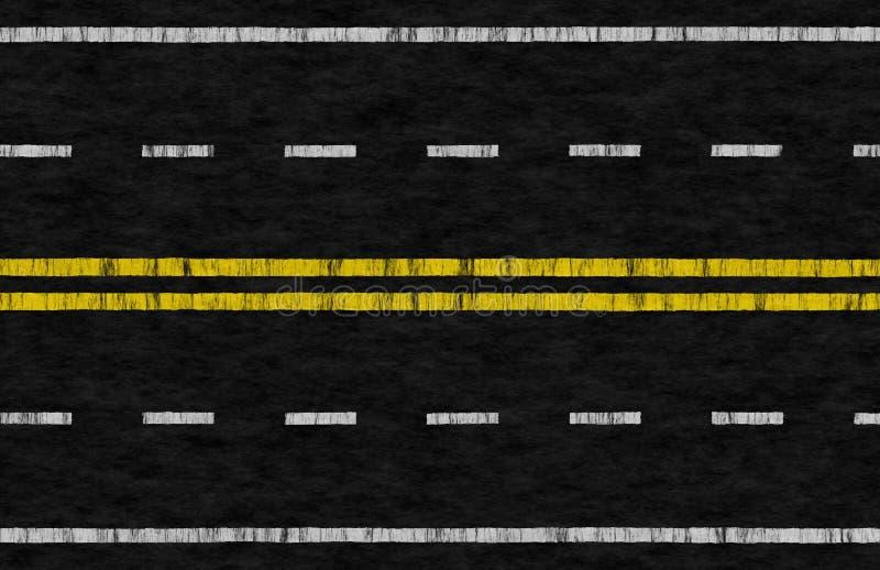 Autoreise-Hintergrund vektor abbildung