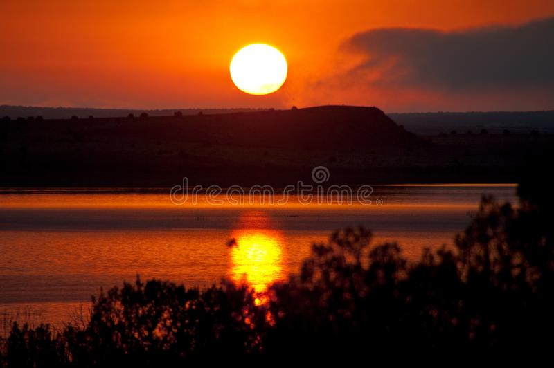 Autoreise: Santa Rosa Lake lizenzfreies stockfoto