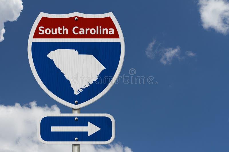 Autoreise zu South Carolina stockfotos