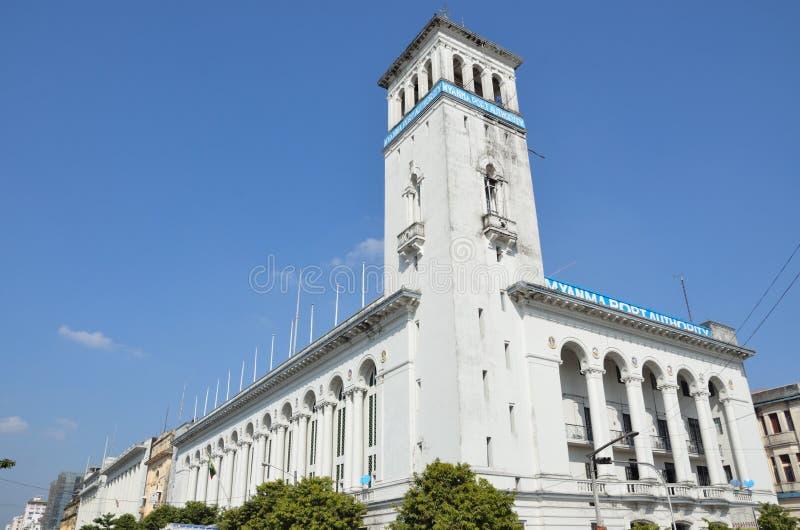 Autoridade portuária de Myanmar fotos de stock royalty free