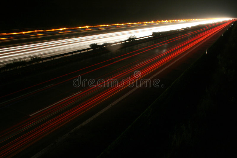 Autoroute allemande photographie stock