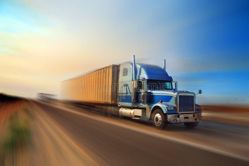 Autoroute de camion image stock