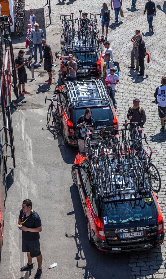 Autos Des BMC Teams Redaktionelles Stockfoto