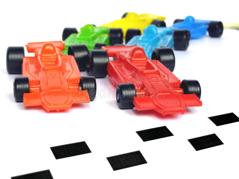 Autos F1 lizenzfreies stockbild