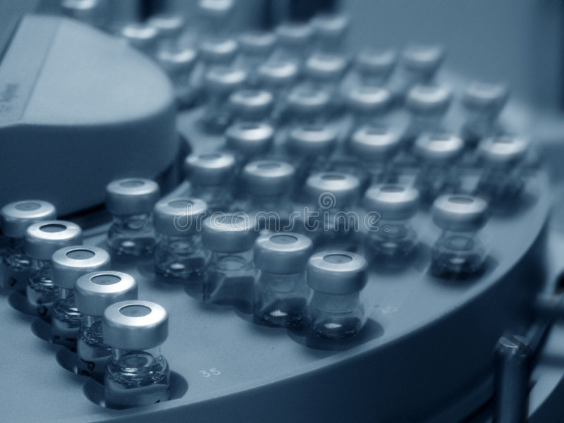 Autosampler royalty free stock image