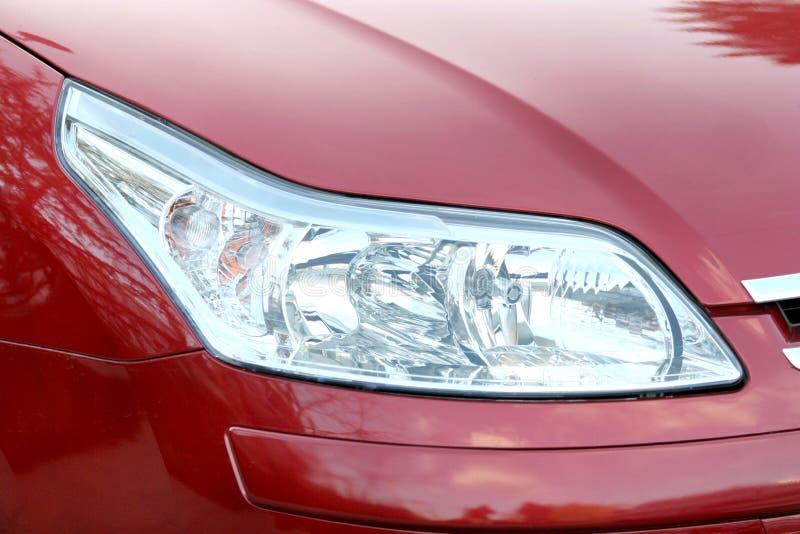 Autoscheinwerfer lizenzfreie stockfotos