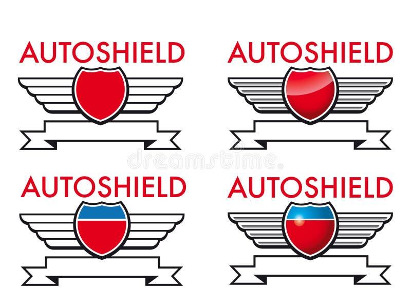 Autoshield stock de ilustración