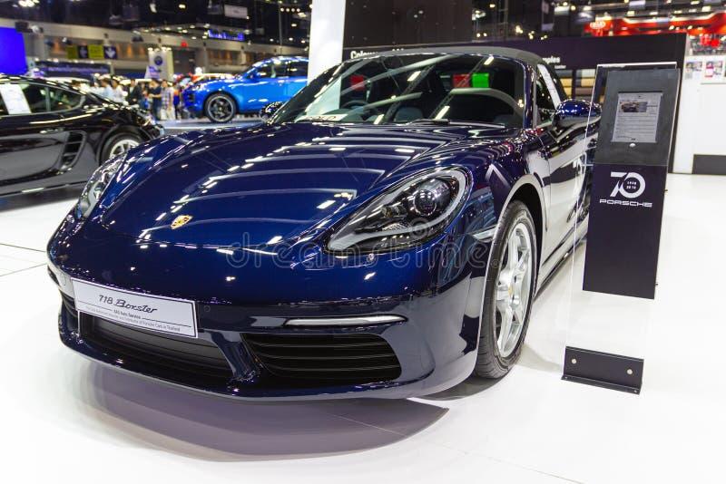 Autoshow Porsche-panamera 4s an den Automobilausstellungen und an anderen Ausstellungen stockbilder