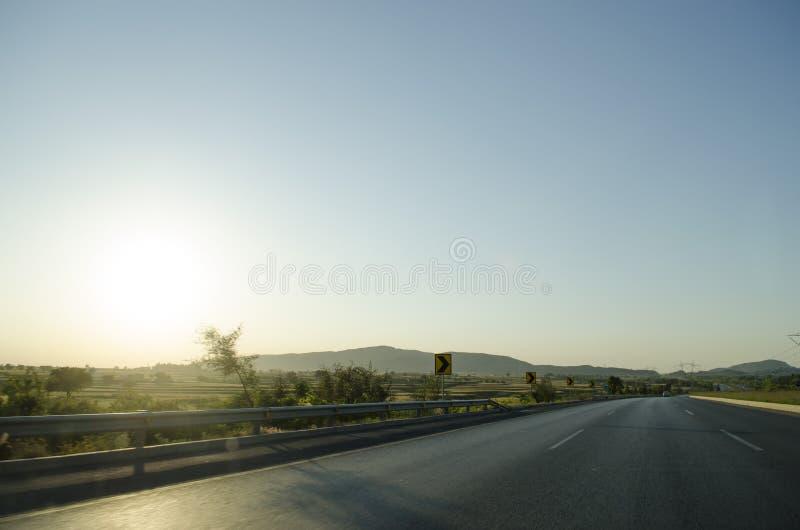 Autosnelweg M1 Pakistan royalty-vrije stock foto