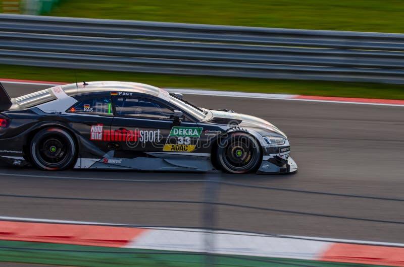 Autosport DTM MoscowRaceWay AudiTeam 2017 images libres de droits