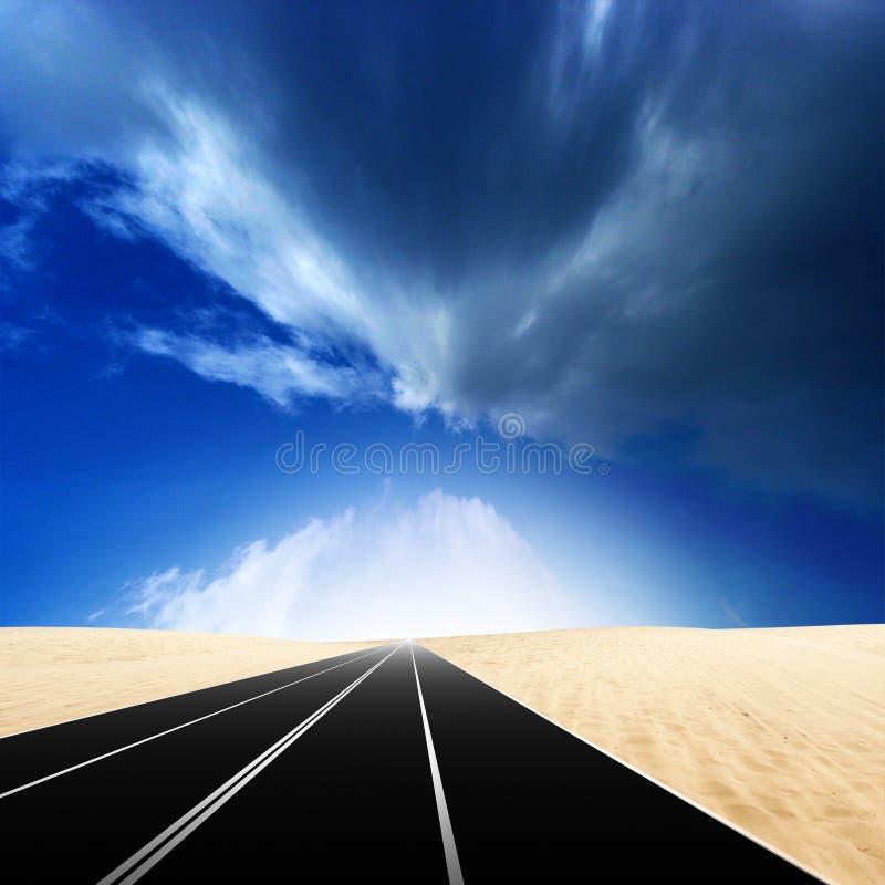 Autostraße vektor abbildung