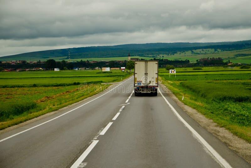 autostradą ciężarówka usa kalifornii zdjęcia stock