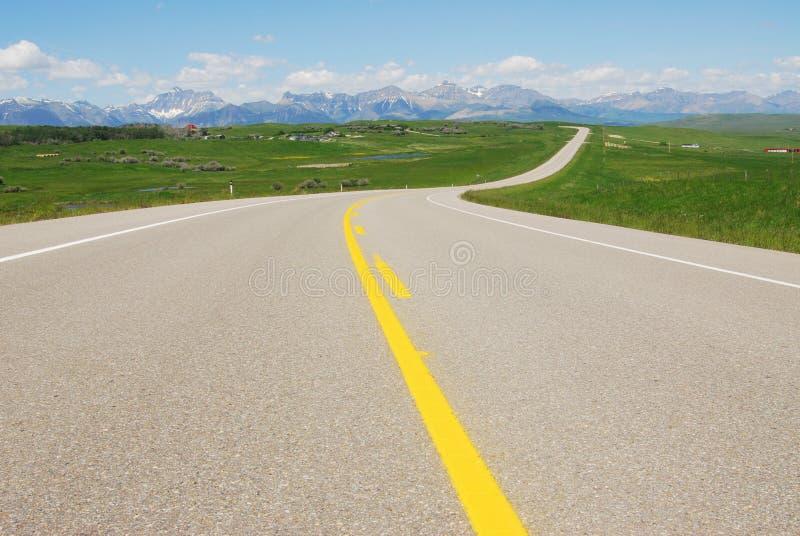 autostrad góry obraz stock