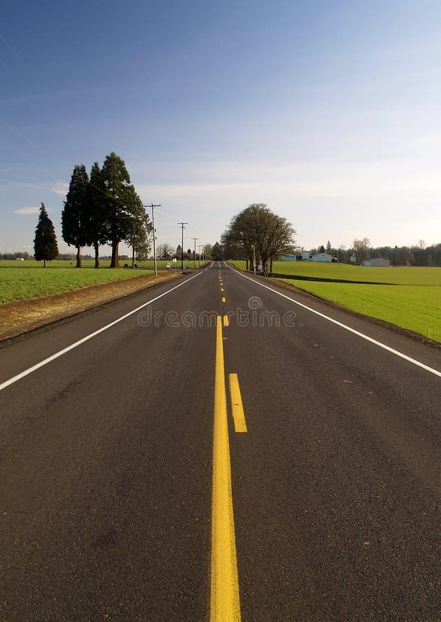 autostrad wzgórza obrazy stock
