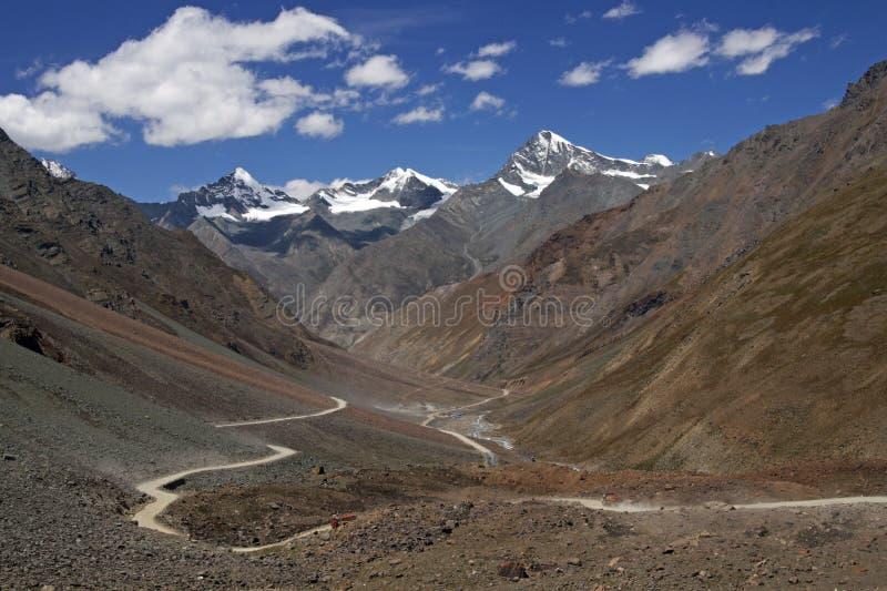 autostrada himalajska obrazy royalty free