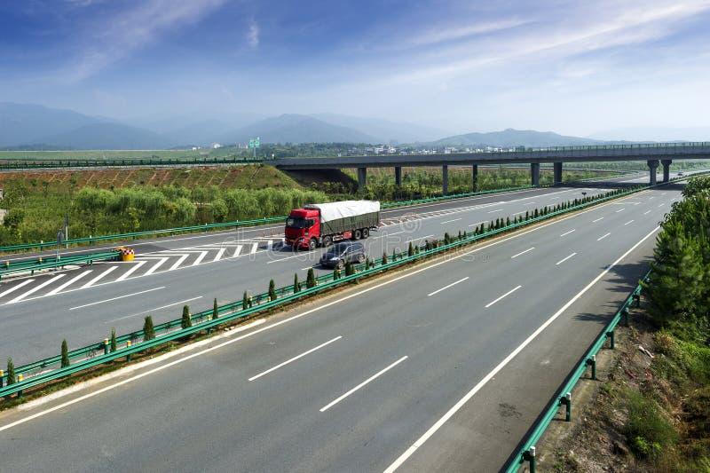 Autostrada i wiadukt zdjęcia royalty free
