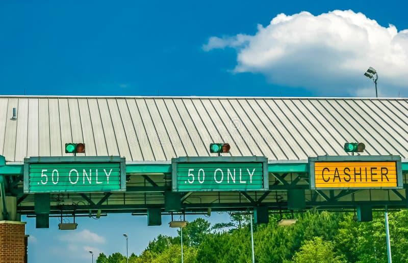 Autostrada Płatna obrazy royalty free