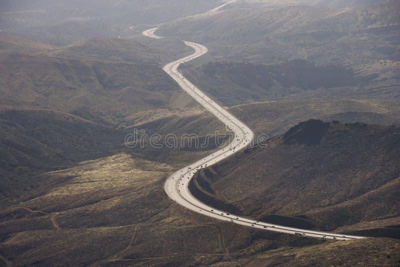 autostrada sceniczna zdjęcia royalty free