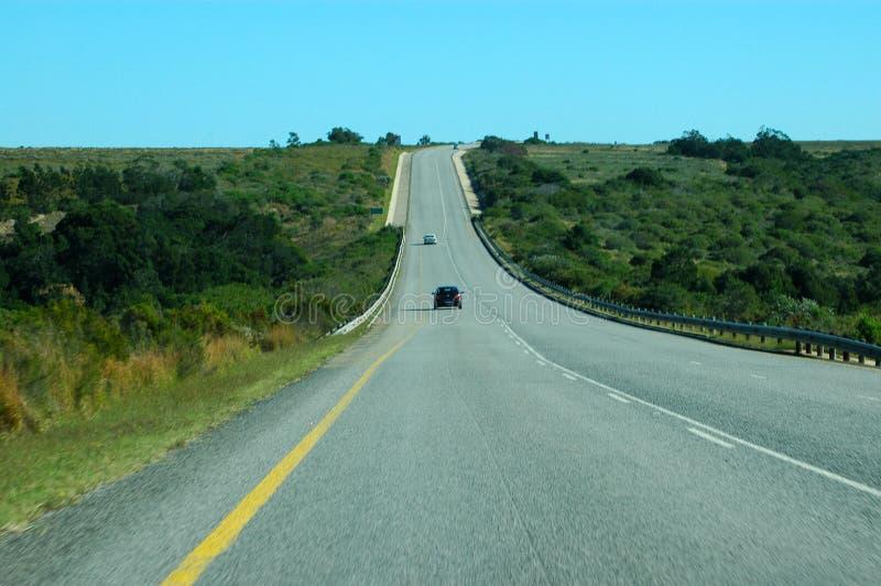 Autostrada senza pedaggio africana immagine stock